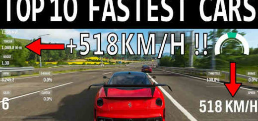 forza horizon 4 fastest car
