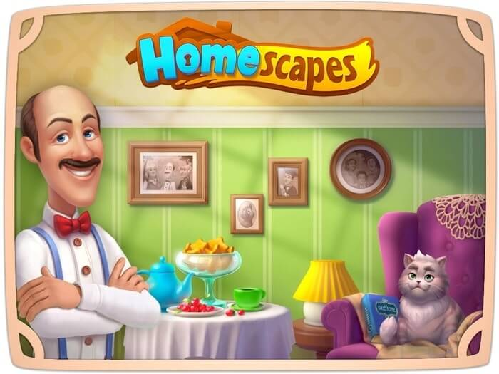 Homescapes Mod APK/IOS Get (Unlimited Stars/ Coins)