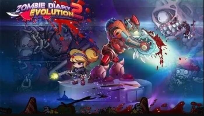 Zombie Diary 2 MOD APK/IOS Download (Unlimited Coins/ Diamonds)
