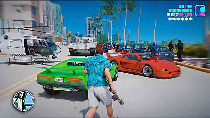 GTA Vice City Mod Apk/IOS Get Unlimited Money, Unlimited Health