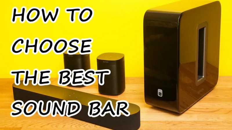 best sound bar