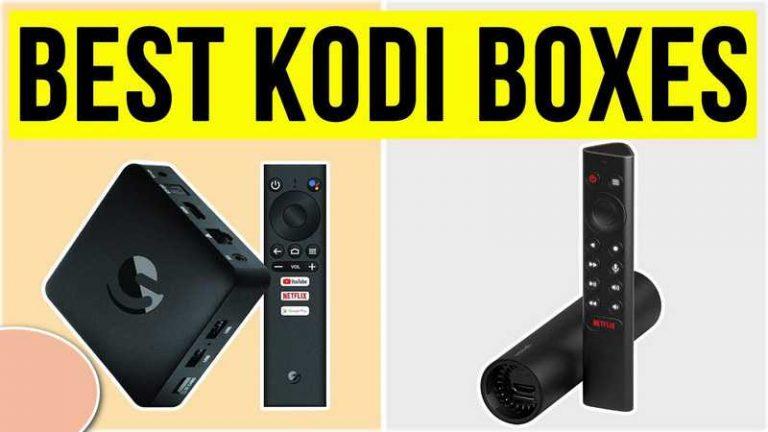 Top 4 Best Kodi Boxes Reviews of 2021 Update – Full Guide