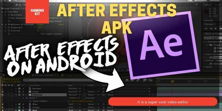 After Effects Apk